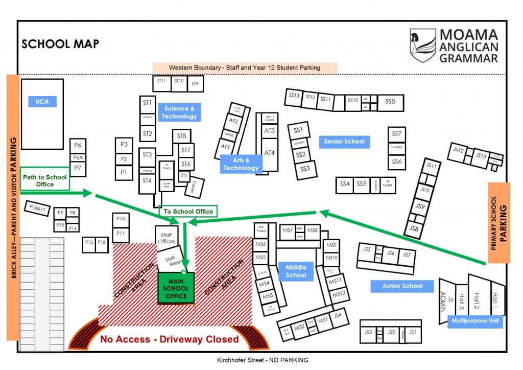 School Map 2016-admin access